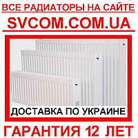 Радиаторы стальные с нижним подключением VK 22 500х1600