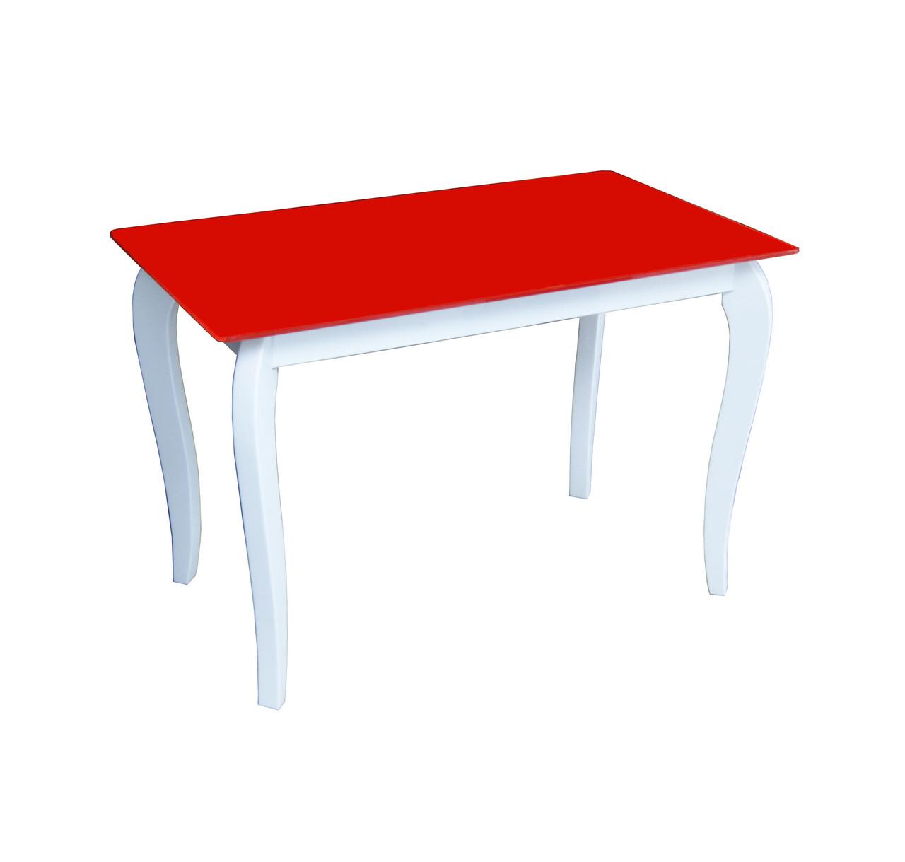 Стол обеденный стеклянный Император Белиссимо Ред