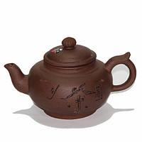 """Чайник глиняный """"Счастье"""""""