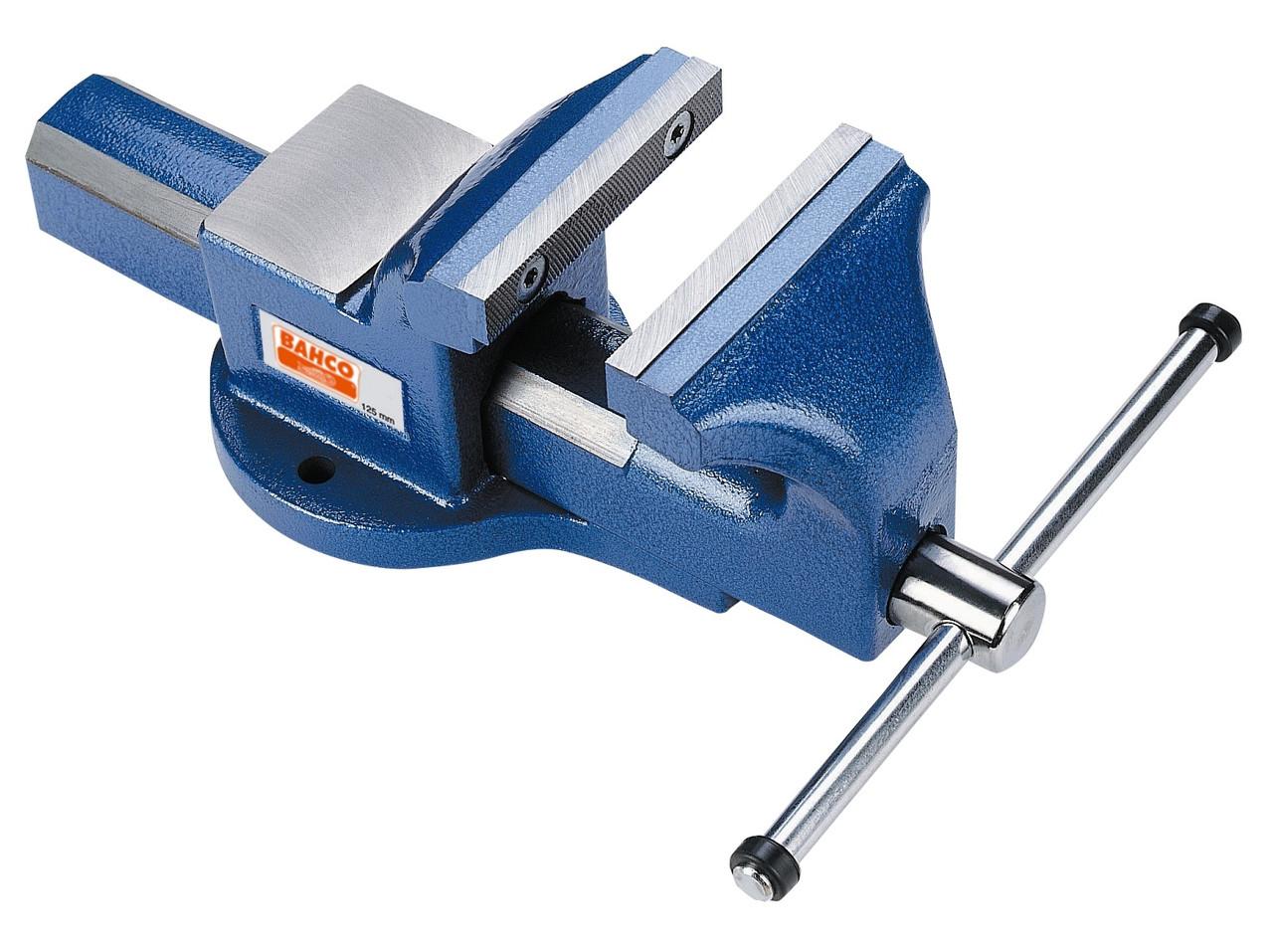 Высокопрочные параллельные верстачные тиски, длина изделия - 551 мм, Bahco, 607201750