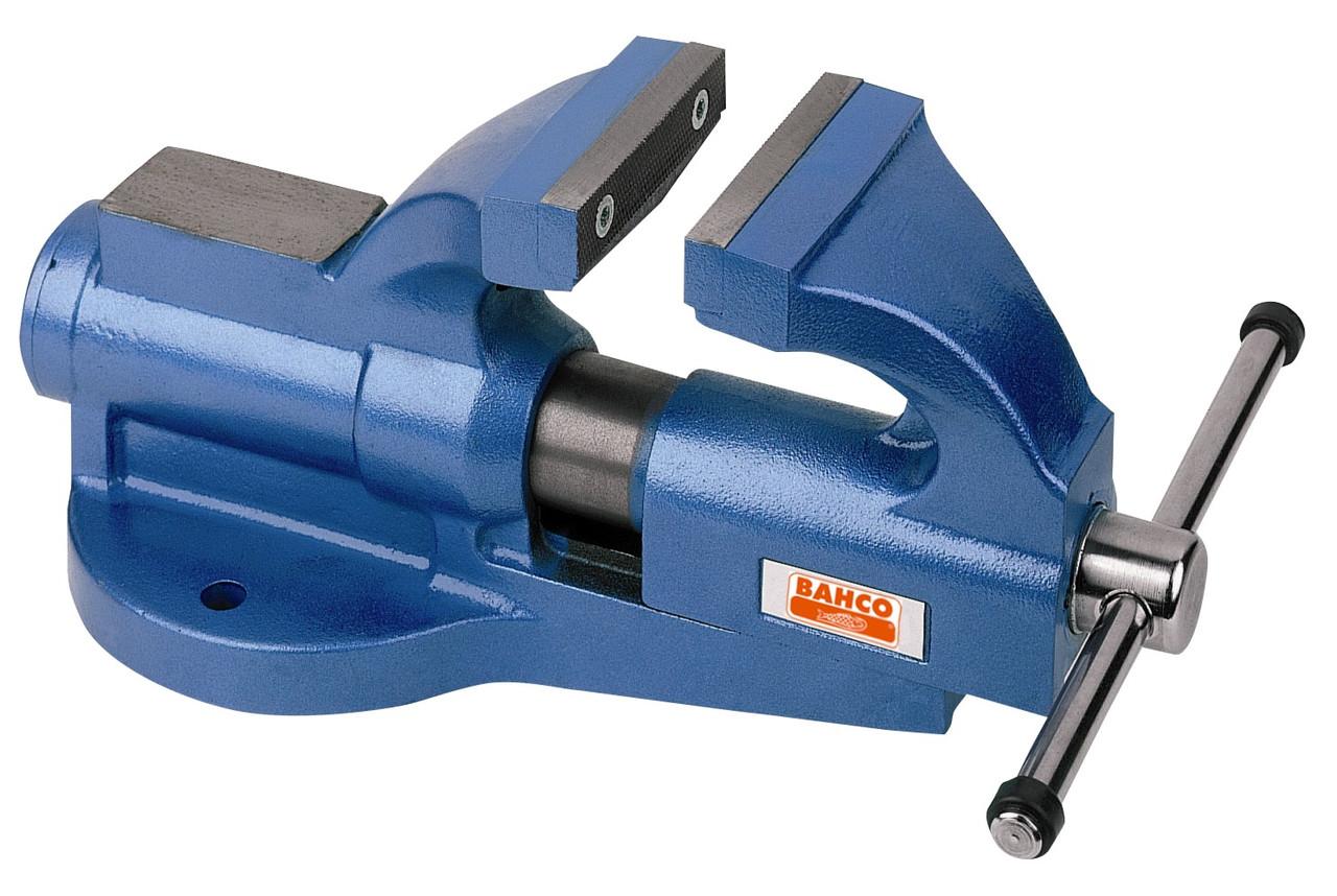 Поворотные верстачные тиски, длина изделия - 375 мм, Bahco, 601001250