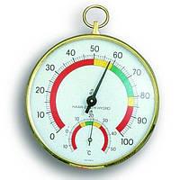 Термогигрометр TFA, цветная шкала, d=100 мм (452027)