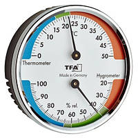 Термогигрометр TFA, цветная шкала, d=71х23 мм (45204042)