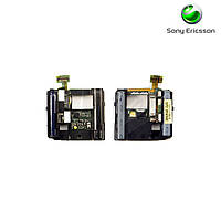 Шлейф для Sony Ericsson C901, вспышки, с компонентами (оригинал)