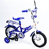 "Детский велосипед 12""  151211 со звонком, зеркалом"
