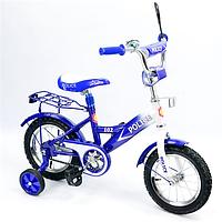 "Детский велосипед 12""  151211 со звонком, зеркалом, фото 1"