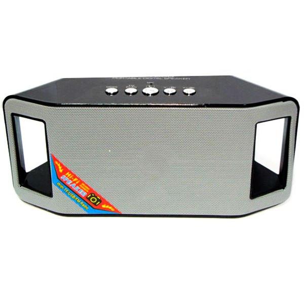 Портативная bluetooth колонка MP3 плеер WS-Y66 Black