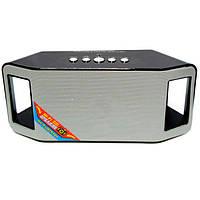 Портативная bluetooth колонка MP3 плеер WS-Y66 Black, фото 1