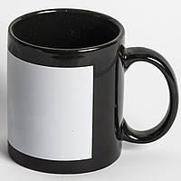Чашка цветная с полем под печать