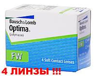 Квартальные контактные линзы Optima FW