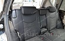 Чехлы на Тойота Рав 4 поколение 3 (авточехлы Toyota Rav 4 поколение 3, Lether style)