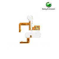 Шлейф для Sony Ericsson K700, вспышки, боковых клавиш, с компонентами (оригинал)