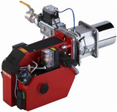 "Газовая горелка MG10/1-Z-L-N-LN KEV 25 1"" (мощность 95 - 420 кВт)"