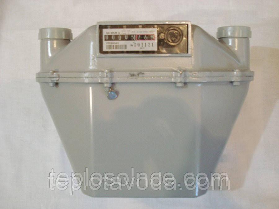 Счетчики газа бытовые МКМ G4, МКМ G6