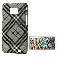 """Чехол пластиковый для Samsung i9100 Galaxy S II """"Diagonal Check"""""""