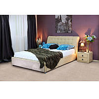 """Двуспальная кровать с мягким изголовьем """"Coffe-Time"""", фото 1"""
