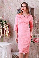 Нарядное платье жаккард р.50-54 Y208.2