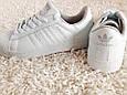 Белые Кеды Adidas Superstar Originals, р.41 унисекс, фото 2