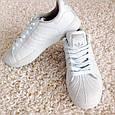 Белые Кеды Adidas Superstar Originals, р.41 унисекс, фото 3