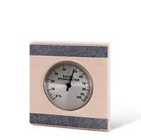 Термометр, вставка из камня Sawo 280 TR