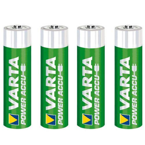 4шт Аккумуляторы в кейсе Varta AA 2400 Ready 2 Use