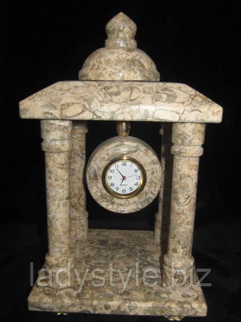 настольные часы из натуральных камней, сувениры, подарки купить