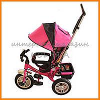 Детский велосипед трехколесный  TurboTrike M 3113-6A, надувные колеса