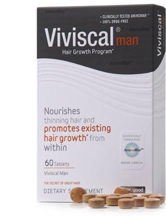 Витамины для волос для мужчин Viviscal Man, 60 таб. Сделано в Ирландии.