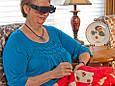 Увеличительные очки Zoomies очки - бинокль с увеличительным стеклом очки для охоты, фото 3