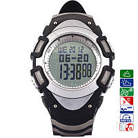 Часы спортивные FR8204A для туризма (компас, альтиметр, барометр, шагомер..). Водозащита 3АТМ