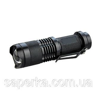 Фонарь светодиодный карманный Police 8468 XPE, ак.14500, zoom, фото 2