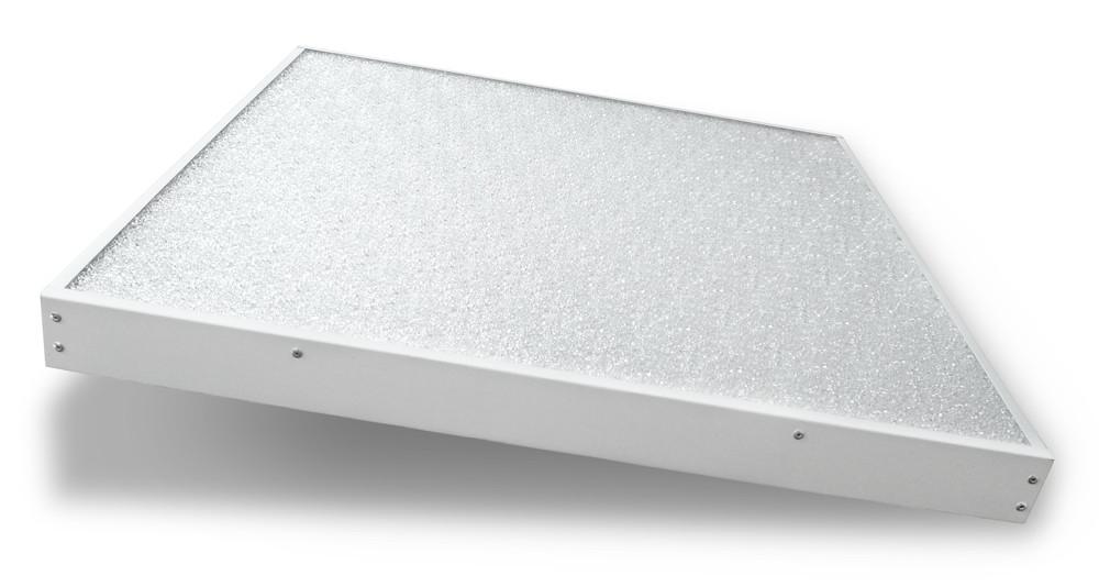 LED панель со стеклом «Колотый лёд»