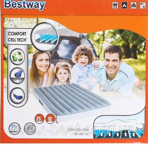 Bestway матрас 67541 (203*152*25,см), фото 2