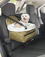 🔥✅ Автомобильная сумка Pet Booster Seat для перевозки животных для транспортировки животных в авто