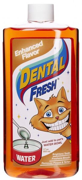 SynergyLabs СВЕЖЕСТЬ ЗУБОВ КЭТ Dental Fresh Cat жидкость от зубного налета и запаха из пасти кошек
