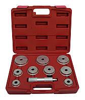 Комплект оправок для установки подшипников и сальников универсальный HESHITOOLS HS-E2010 (10 предметов)