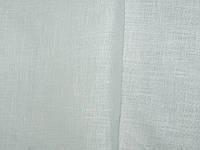 Льняная ткань средней плотности, белого цвета
