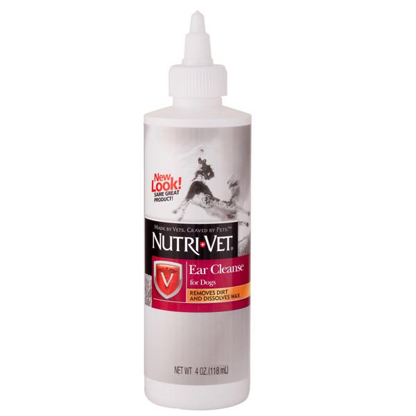 Nutri-Vet Ear Cleanse НУТРИ-ВЕТ ЧИСТЫЕ УШИ ушные капли для собак
