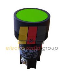 """ХВ2-ЕН135 Кнопка """"Старт"""" зелена"""