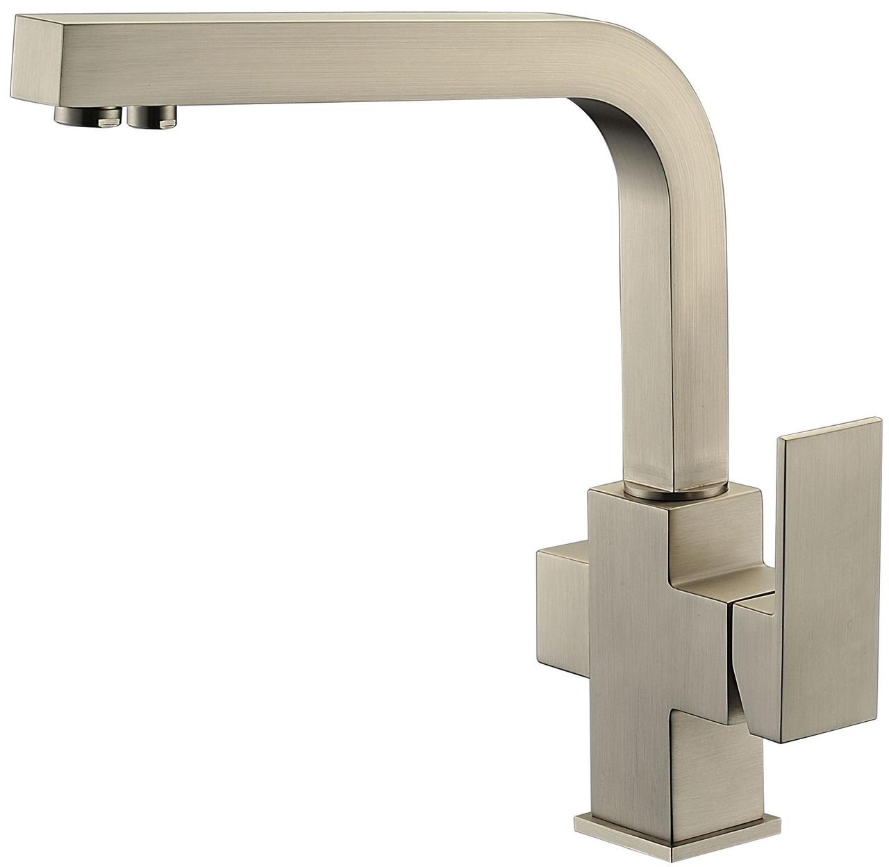 Смеситель с подключением фильтрованной воды 2 в 1 Kaiser Sonat 34044-5 Silver