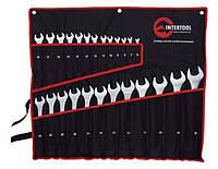 Набор комбинированных ключей 25ед 6-32мм Intertool HT-1200