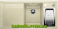Мойка кухонная гранитная Blanco Axia 6 S-F Silgranit