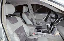Чохли на Тойота Камрі V40 (авточохли Toyota Camry V40, Lether style)