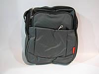 Сумка мужская OR@MI 8966, (текстиль), темно-серый, размер 300*260*100