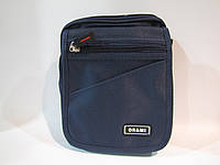 Сумка мужская OR@MI 9812, (текстиль), синий, размер 330*270*100