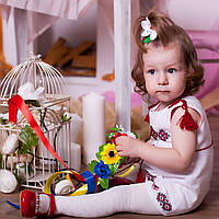 Вишитий сарафан  (ручна робота, домоткане полотно 1-2 роки), фото 1