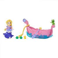 DPR Набор для игры в воде: маленькая кукла Принцесса и лодка Рапунцель, B5338