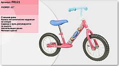 Велобег арт. FR121 Frozen , стальная рама, катафоты
