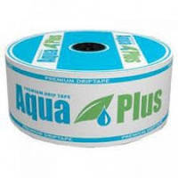 Капельная лента Aqua Plus/ Star Tape 20 см 1 л/ч 500 м