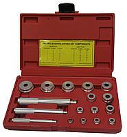 Комплект оправок для установки подшипников и сальников  HESHITOOLS HS-E2011 (17 предметов)